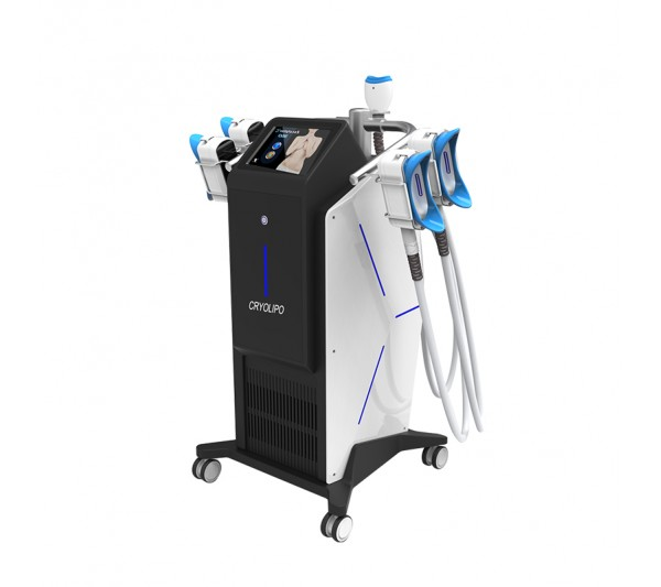Aparat Profesional 5 Manipuli Criolipoliza 360 SuperCool, Cryoterapie Indepartare celulita, Fat Freezing Lifting Salon, ZSCULPTURE