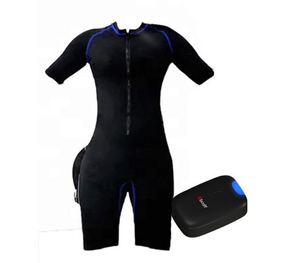 Costum EMS Body Suit Personal Use, Creare Masa Musculara Fitness Microcurenti Electrostimulare Profesional Slabire Rapida Anticelulitic, APP SBODY WireLess