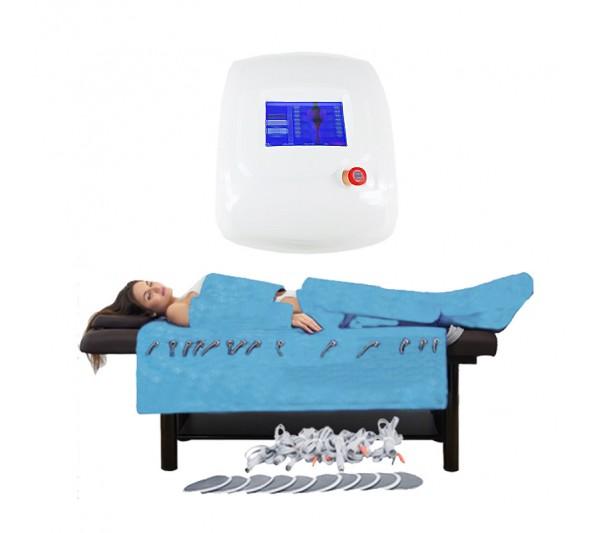 Aparat LCD Drenaj limfatic, EMS,Infrarosu Profesional de Slabit Presoterapie, Pierdere in Greutate, Anti Celulita, Detox Body Spa 6809