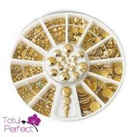 Carusel 12 Pietriclele unghii- Aurii