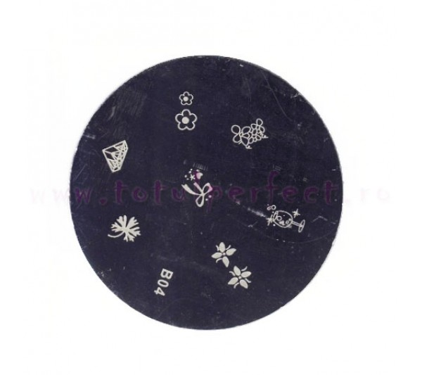 Matrita Stampila Unghii Disc 4