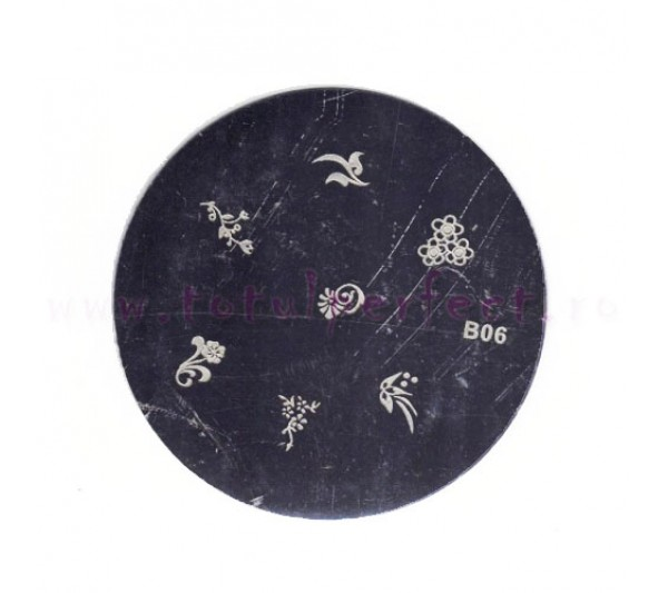Matrita Stampila Unghii Disc 6