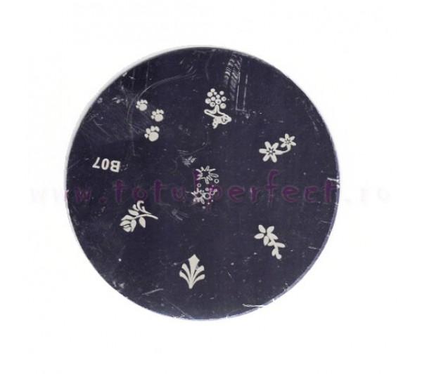 Matrita Stampila Unghii Disc 7