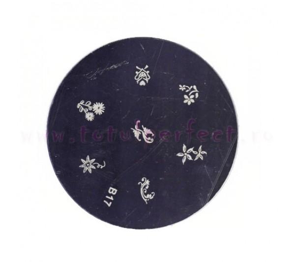 Matrita Stampila Unghii Disc 17