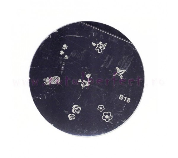 Matrita Stampila Unghii Disc 18