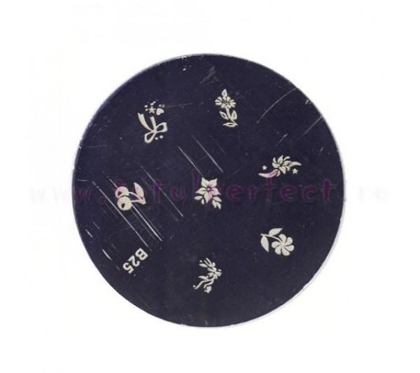 Matrita Stampila Unghii Disc 25