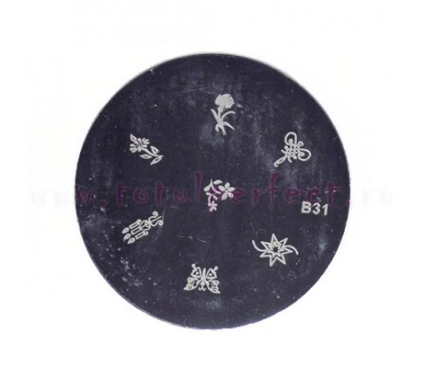 Matrita Stampila Unghii Disc 31
