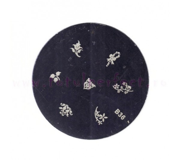 Matrita Stampila Unghii Disc 36