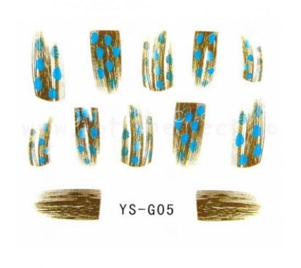 Sticker unghii Pene G05
