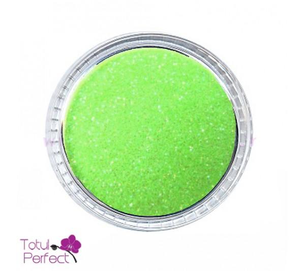 Sclipici unghii Fin Verde
