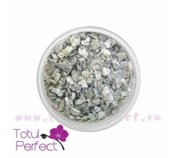 Scoici unghii Naturale Silver