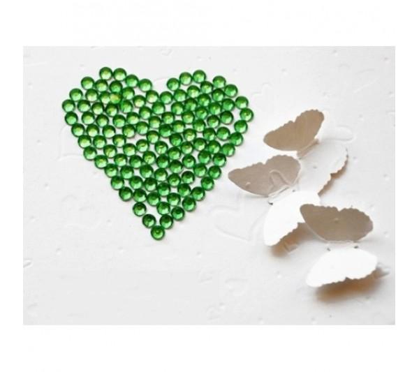 Pietricele Unghii Verde Inchis