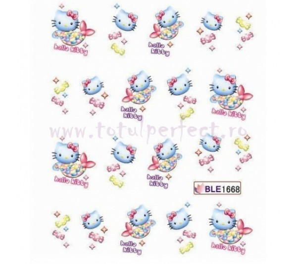 Tatuaj unghii Hello Kitty 1668