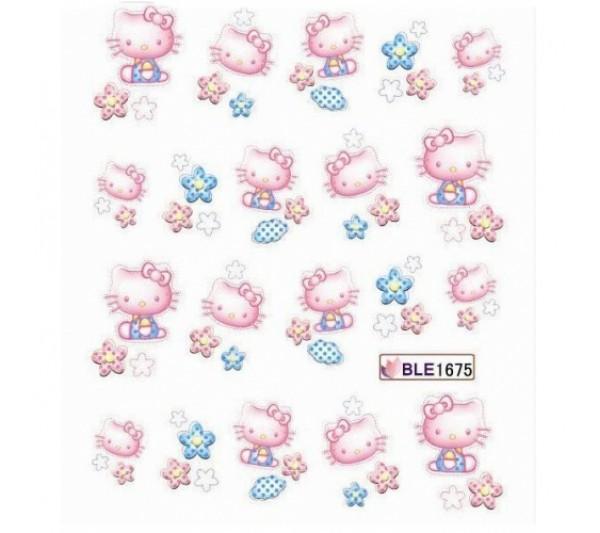 Tatuaj unghii Hello Kitty 1675