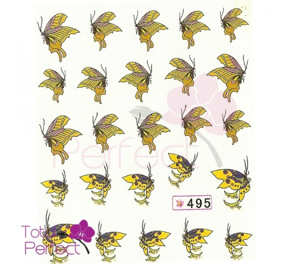 Tatuaj unghii Fluture 495