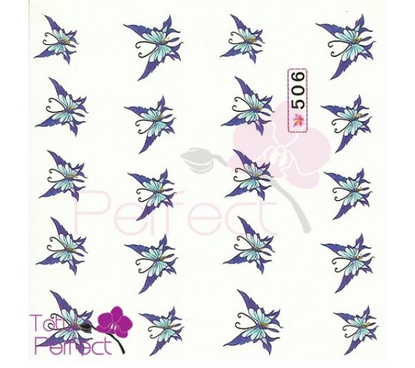 Tatuaj unghii Fluture 506