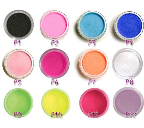 Pudra Acrilica Color - 8Gr