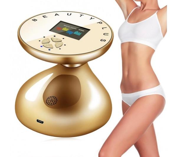 Aparat Cosmetic Ultrasonic RF Slabit, Indepartarea grasimii, Masaj, Tonifierea pielii, Ingrijirea/Tonifierea Corpului, TotulPerfect Gold 1705