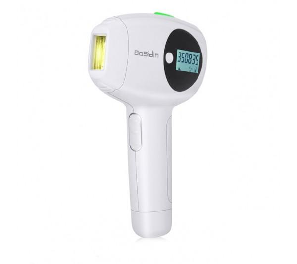 Epilator IPL Bosidin, Senzor Skin, utilizare 500.000 impusuri Indepartarea parului, Rejuvenarea pielii, Curatarea acneei  Ice Cold 1129