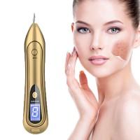 Aparat Cosmetic Plasma Indepartarea Petelor, Alunitelor, Pistruilor, Ecran LCD, Antiacnee Mole Removal Flower Gold