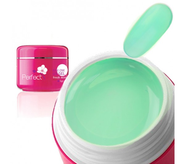 Gel uv Unghii Fresh Mint