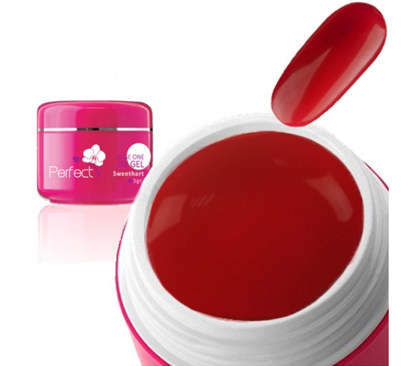Gel uv Unghii Sweethart Red
