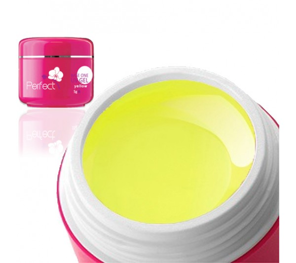 Gel uv Unghii Neon Yellow