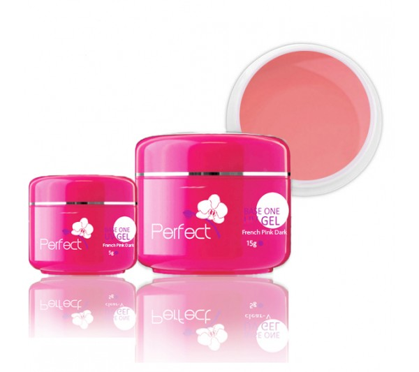 Gel Uv 3in1 French Pink Dark - Roz Inchis